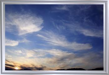 大空いっぱいの雲