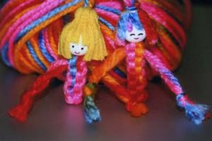 毛糸のマスコット
