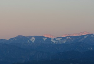 17日の山脈