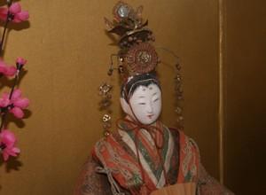 江戸末期のおひなさまの顔
