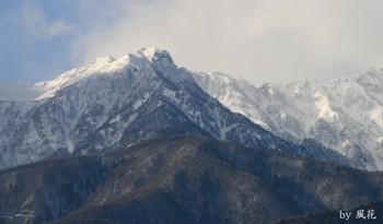 仙涯嶺と南駒ヶ岳