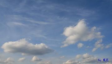 雲が踊る空