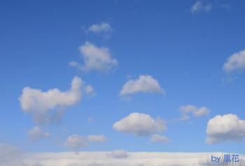 昼ちょっと前の空