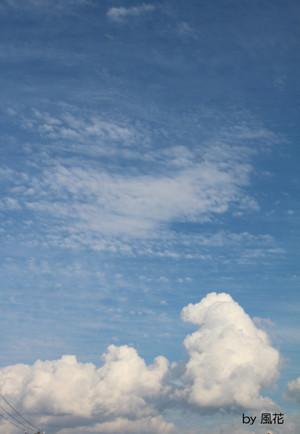 昼過ぎの空