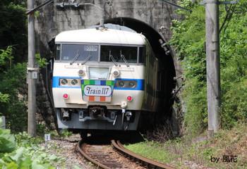 トンネルの向こうは天竜峡
