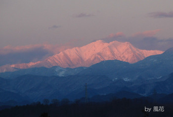 雪の仙丈ケ岳