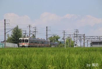 下りの313系列車